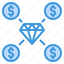 business, daimond, finance, investment, money