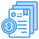business, contract, finance, investment, money, plan icon