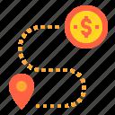 business, finance, investment, money, navigator, target icon