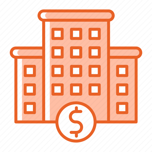 building, business, company, finance, home, investment, resources icon