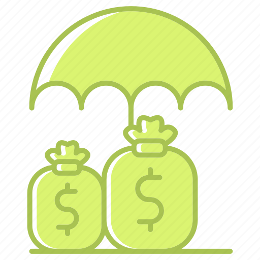 business, finance, funds, investment, money, protection, save icon