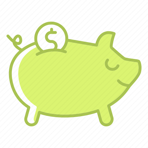 bank, business, cash, finance, investment, piggy, save icon
