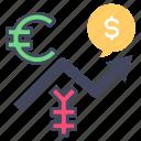 chart, exchange, forex, investment, market, money, trade
