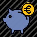 pig, piggy, money, saving, finance, euro