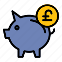 pig, piggy, money, saving, finance, poundsterling