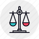 balance, choice, decision, justice, law, scale, scales icon