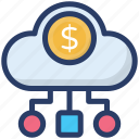 capital, cash flow, investment, money flow, money inflow icon