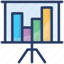 bar chart, business analytics, business growth, business presentation, growth chart icon