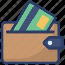 billfold wallet, digital wallet, money wallet, purse, wallet icon