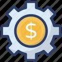 business management, cash management, financial management, financial planning, money management icon