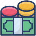 dollar sack, finance, money, money sack, wealth icon