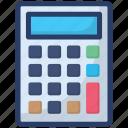 adder, adding machine, calculator, digital assistant, number cruncher icon