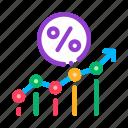business, de, finance, grow, line, percent, progress