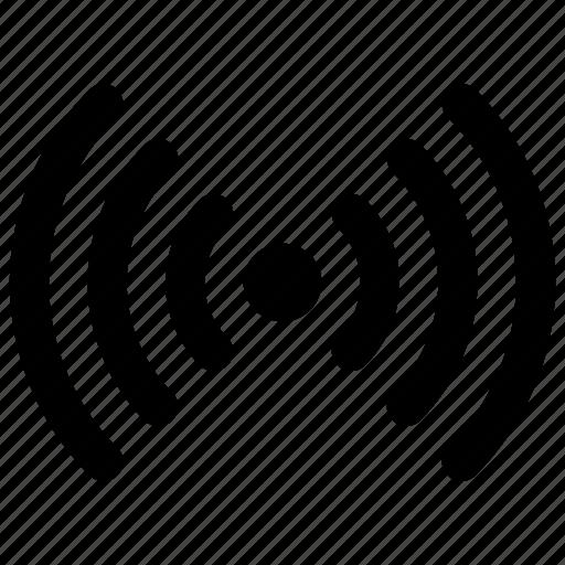 antenna, network, range, signal, wifi icon