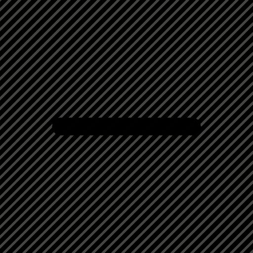 cancel, minus, remove icon