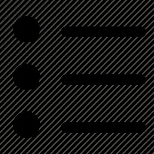 checklist, ios, list, menu, order icon