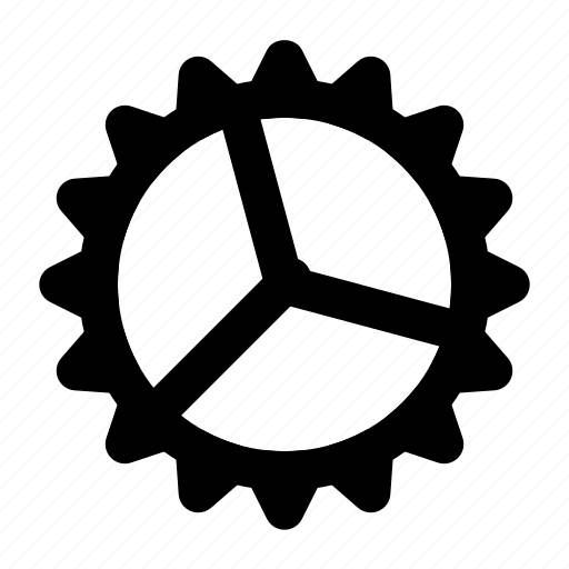 cogwheel, gear, setting icon