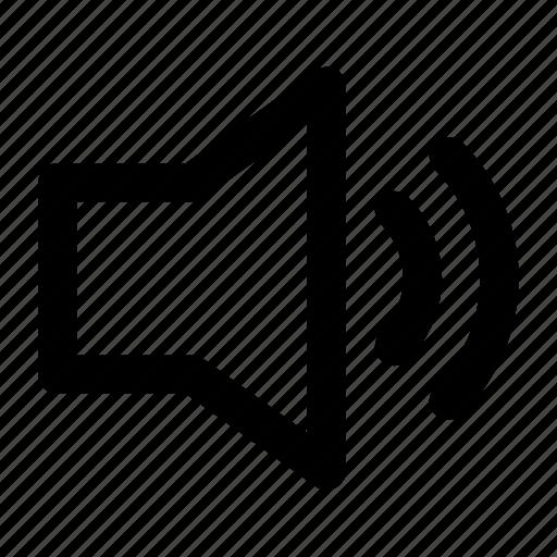 audio, iphone, music, speaker, ui, volume icon