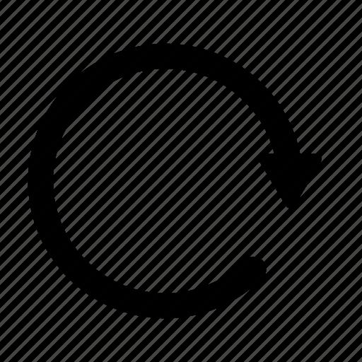 refresh, reload, synchronize icon