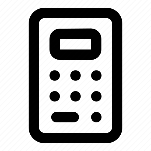 calc, calculation, calculator, iphone, operation, ui icon