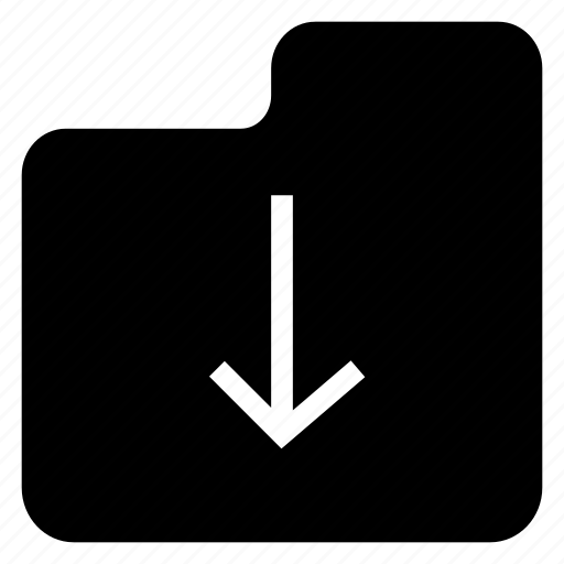 archive, downoad, file, folder icon