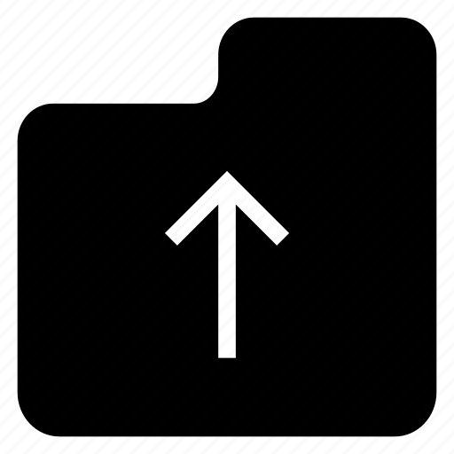 archive, file, folder, upload icon