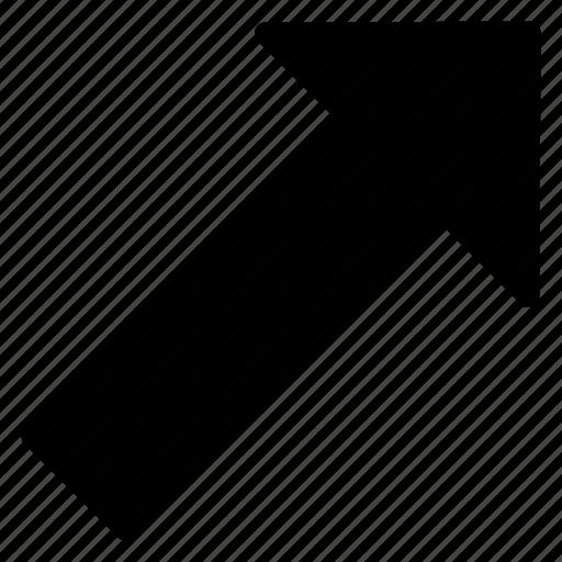 arrow, curved, direction, locators icon