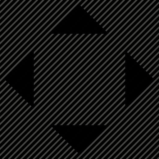 arrows, control, direction icon