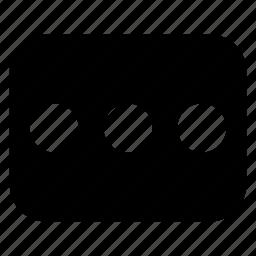 control, info, menu icon