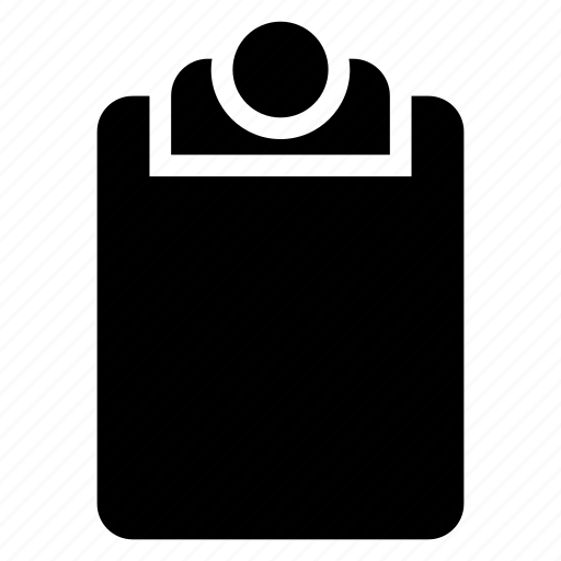 clipboard, document, notes, papers icon