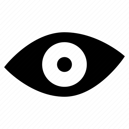 eye, look, seen, view icon