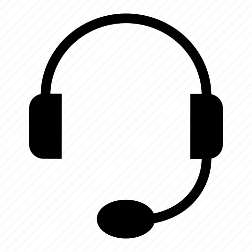 headphone, music, services, support icon