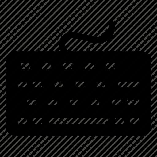 device, keyboard, keypad, typewriter icon