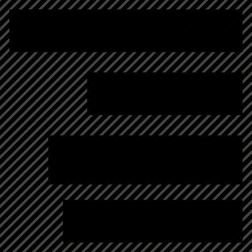 lines, list, menu, view icon