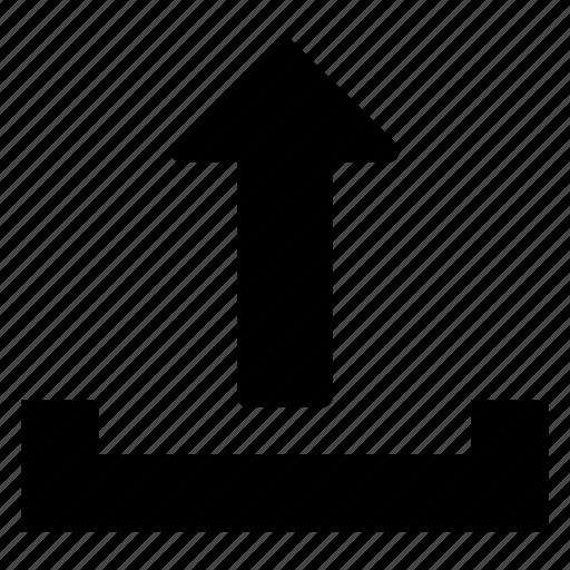 arrow, export, share, upload icon