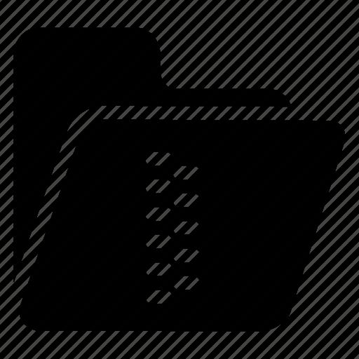 archive, document, folder, zip icon