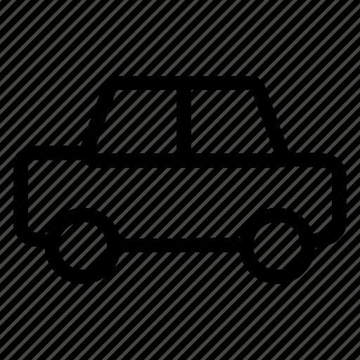 automobile, car, transport, wheel icon