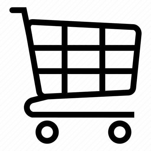 cart, dolly, shopping, trolley icon