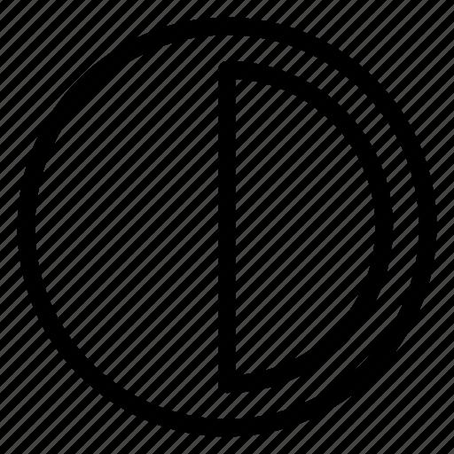 brightness, color, contrast, design icon