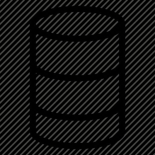 database, server, storage, system icon