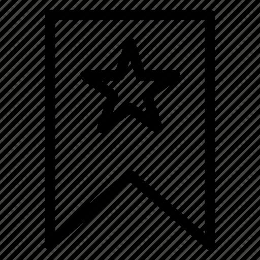 badge, bookmark, label, tag icon