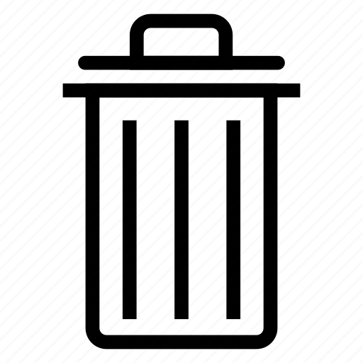 delete, garbage, recyclebin, remove icon