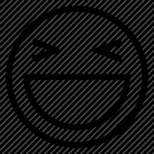 emoticon, face, happy, smile icon