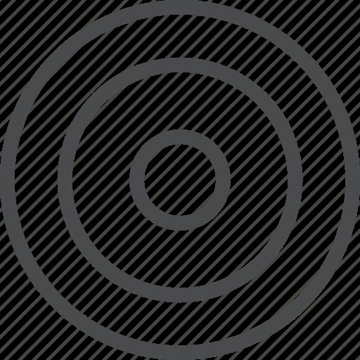 aim, bullseye, focus, goal, marketing, target icon
