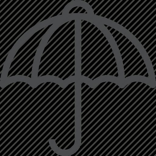 insurance, protection, rain, shade, storm, umbrella, weather icon