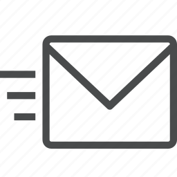 chat, conversation, email, letter, mail, message, send icon