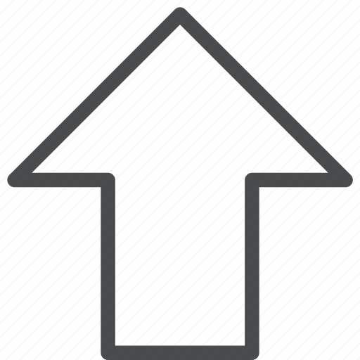 arrow, move, shift, up icon
