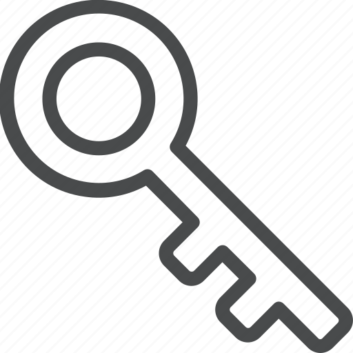 access, key, login, password, privacy, skeleton, unlock icon