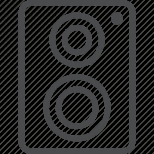 music, party, sound, speaker, volume icon