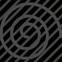 hurricane, spiral, spirals, whirlwind icon